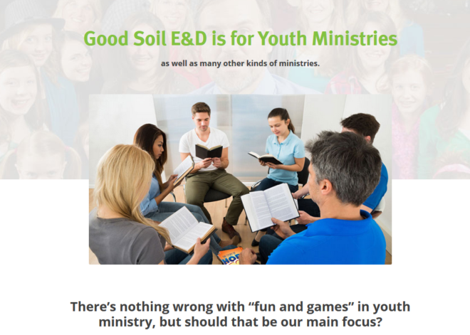 Youth Ministry Page