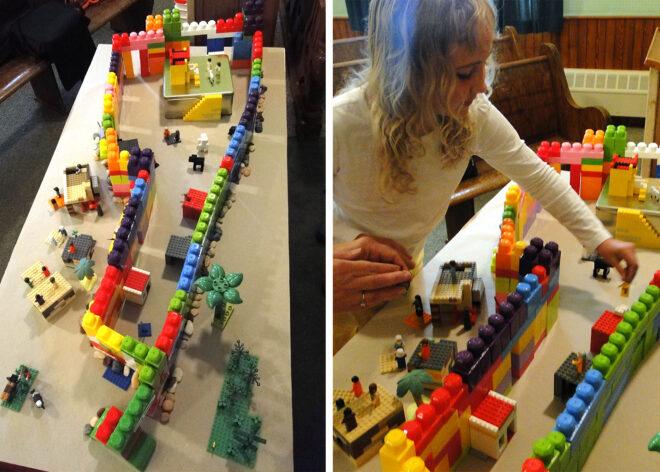 Lego Tabernacle
