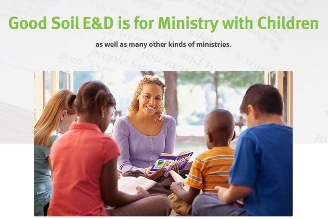 Ministry With Children Page Image