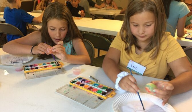 TGBA at GBC Group Egg Painting Craft cropped